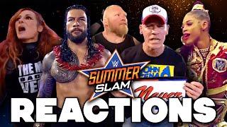 WWE SummerSlam 2021 Reactions