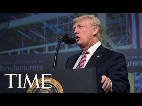 Donald Trump Promotes 'Giant, Beautiful, Massive, The Biggest Ever In Our Country' Tax Plan | TIME