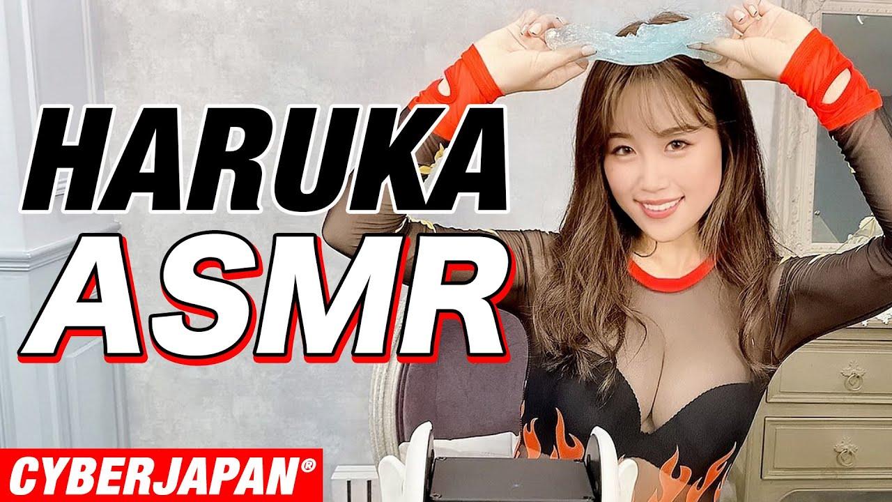 【ASMR】HARUKAがたぷたぷスライムを作って、音を楽しんでみた!【音フェチ】