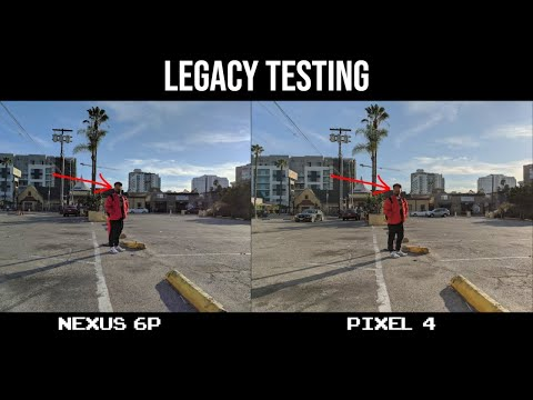 2015's Nexus 6P vs 2019's Pixel 4 Photo Quality - Legacy Testing