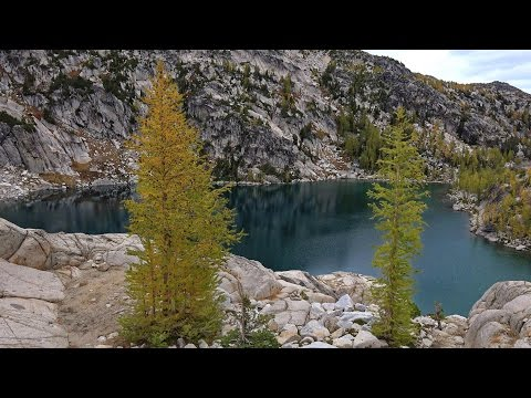 Enchantment Lakes, Washington, USA in 4K (Ultra HD)
