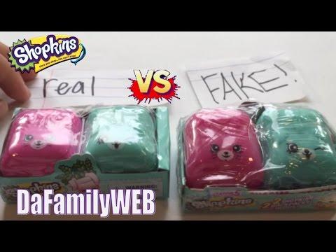 Fake VS. Real Shopkins Season 5!