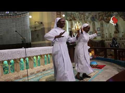 Concert de Sr. Anne Marie à La Basilique Notre Dame d'Afrique d'Alger.