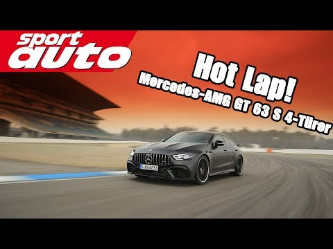 Mercedes-AMG GT 63 S 4Matic+ 4-Türer Coupé | HOT LAP Hockenh
