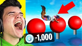 You LAUGH You LOSE 1,000 V-BUCKS! (Fortnite)