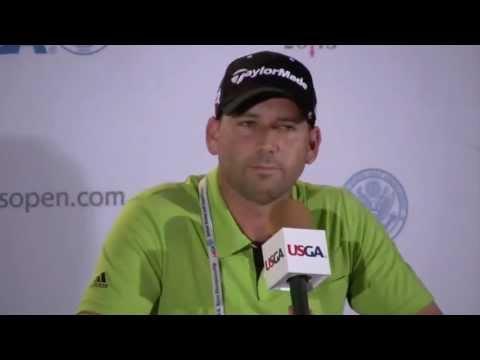 2013 U.S. Open: Sergio Garcia Pre-Championship