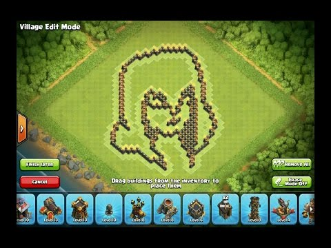 New clash of clans wall art - coc witch