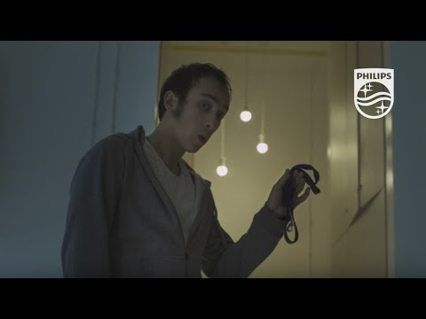 Guy & His Dog Philips Wake-up Light | Philips Light Therapy