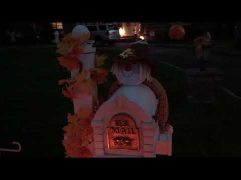 Halloween Houses in Westbury, NY 2017