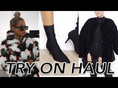 TRY ON CLOTHING HAUL (TOPSHOP, H&M, ZARA) | NADIA ANYA