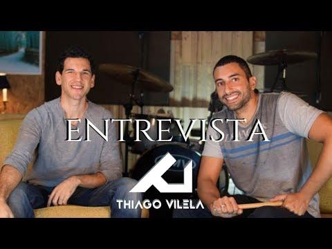 Entrevista Com Thiago Vilela - O Dia a Dia de Um dos Melhores Bateristas do Brasil