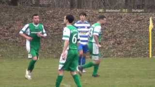 SG Weilimdorf - Hilalspor Stuttgart am 17.03.2013 2017 Video