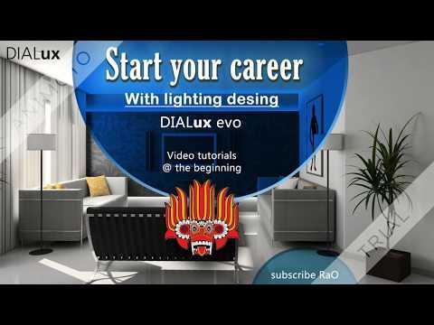 Dialux evo - Lighting design tutorials - Fundamentals and theories -