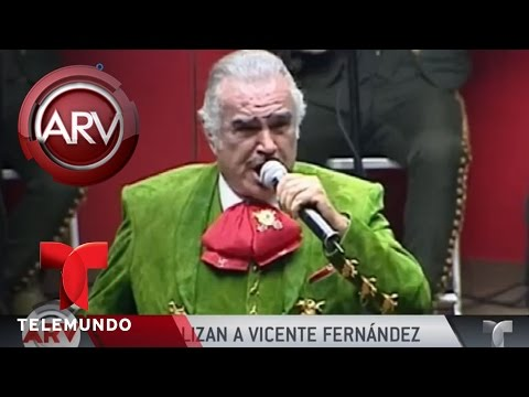 Vicente Fernández es hospitalizado | Al Rojo Vivo | Telemundo