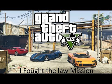 GTA 5 - I Fought the Law Mission - Awesome Racing