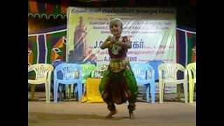 Megha Kumaran BharathaNatiyam Dance 15-01-2013