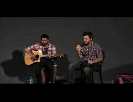 Thrice - Moving Mountains (acoustic)