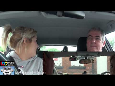 Claire's 27th driving lesson with Bob