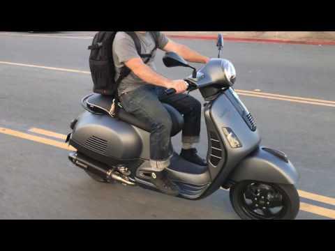 Vespa Motorsport Custom Carbon Fiber Super Sport GTS