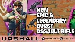 *NEW WEAPONS* Legendary Burst Assault Rifle Gameplay (PS4 Pro) Fortnite Livestream