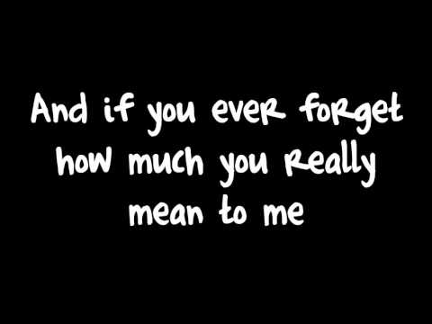 Count On Me-Bruno Mars / Lyrics