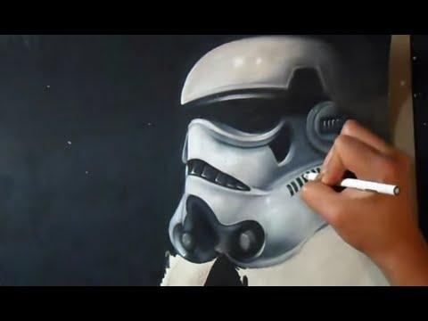 Dessin Stormtrooper Realiste Youtube