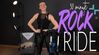ENERGIZING ROCK RIDE | 30 Minute Indoor Cycling Workout