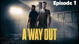 On découvre la Prison ! A WAY OUT FR #1 Coop ft  Almoxe