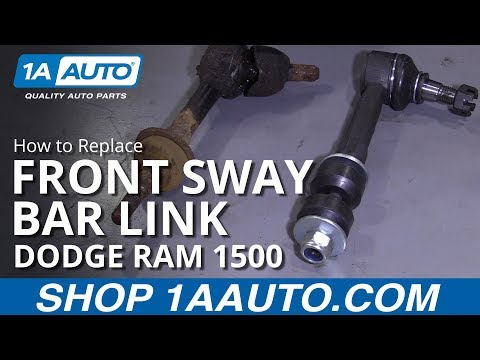 How to Replace Front Sway Bar Link 94-02 Dodge Ram 1500