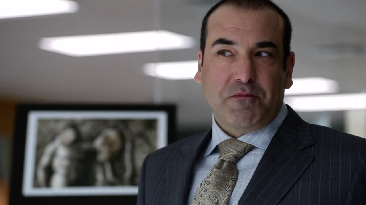 Suits Louis Litt Funny Scene Presentation on Jeff Malone