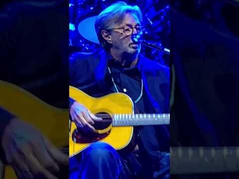 "Acoustic song. ""Driftin Blues "". Eric Clapton Live in Las Vegas."