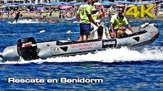 Rescate en Benidorm