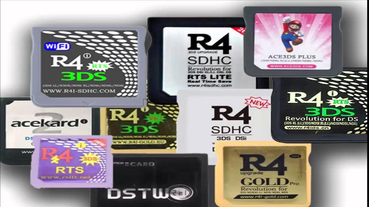 R4 SDHC 3DS DSI DUAL CORE 2016 GRATUIT