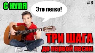 🎸 Уроки игры на гитаре С НУЛЯ - учим песню, свинг, pull-off, hammer-on