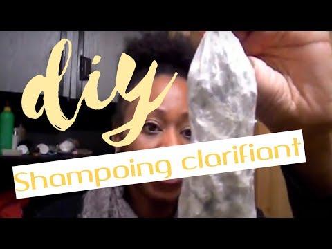 shampoing clarifiant fait maison youtube. Black Bedroom Furniture Sets. Home Design Ideas