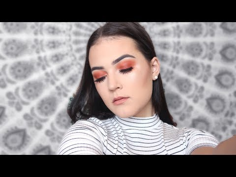 A VERY REQUESTED MAKEUP TUTORIAL   Red Smokey Eye