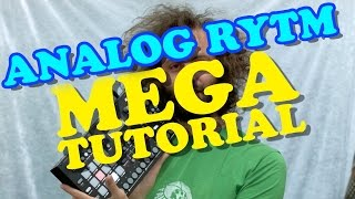 Analog Rytm MEGA TUTORIAL - CUCKOO
