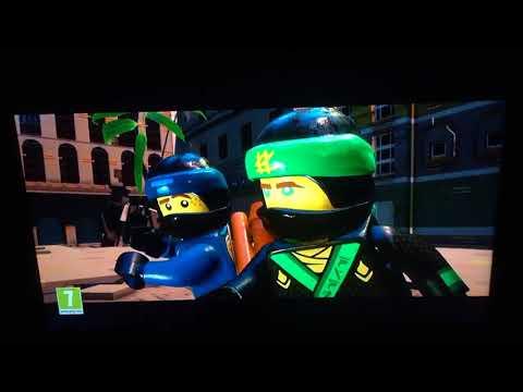 Opening To The Lego Ninjago Movie 2018 UK DVD