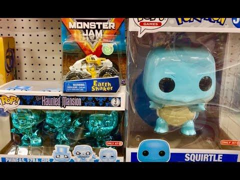 Collectible Toys Hunt - Disney Cars, Jurassic World, Monster Jam, Star Wars, Hot Wheels, Funko Pops