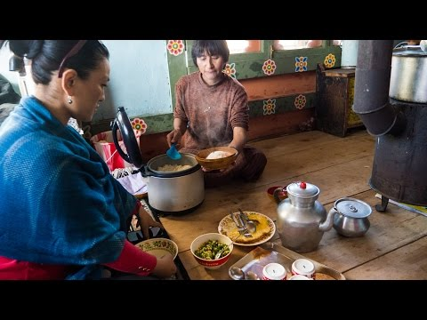 Butter Tea and Sustainable Bhutanese Food at Wangdue Ecolodge, Bhutan (Day 17)