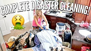 🤮Complete Disaster! ULTIMATE CLEAN WITH ME | NEW HOUSE UPDATES | CLEANING MOTIVATION 2019