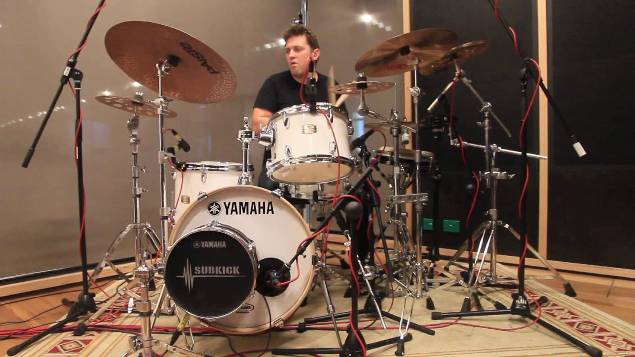 yamaha stage custom birch bebop drums with darran muller. Black Bedroom Furniture Sets. Home Design Ideas