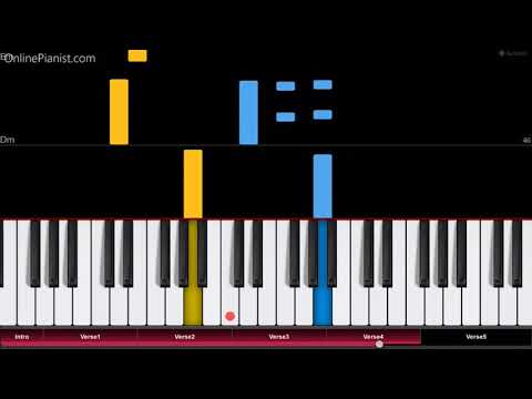 The Legend of Zelda - Song of Storms - EASY Piano Tutorial