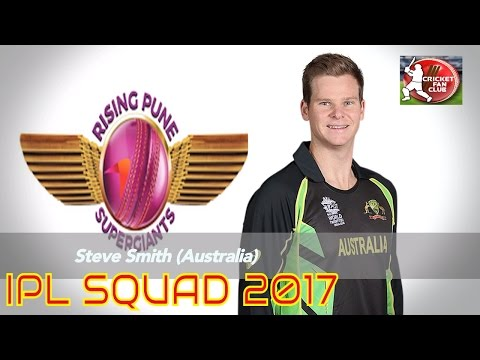 Rising Pune Supergiants Squad 2017 | All Players For IPL-10 2017 | Cricket Fan Club