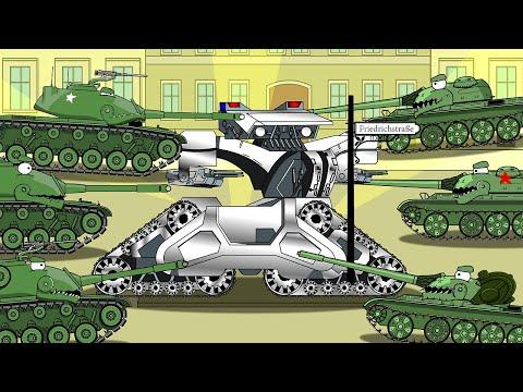 охотник убийца T1 - мультики про танки