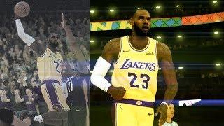 NBA 2K19 - LeBron James Raw Highlights