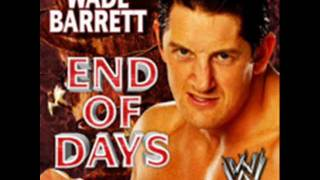 "WWE Wade Barrett 2011 Theme Song -""End Of Days"" [Single Album - iTunes Released] + Download Link"