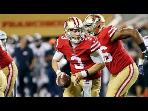CJ Beathard QB San Francisco 49ers Film review vs Broncos