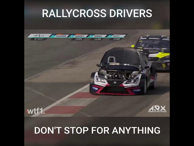Amazing Rallycross driver!!! ARX - Scheider