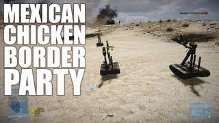 Mexican Chicken Border Party